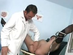 Horny pregnant babes fucked doctor in hospital