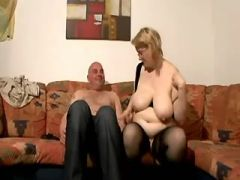 Pregnant mature hard drilled by man in every poses