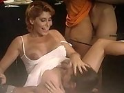 Pregnant milf have fun in groupsex