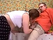 Pregnant wife crazy fucked by lover
